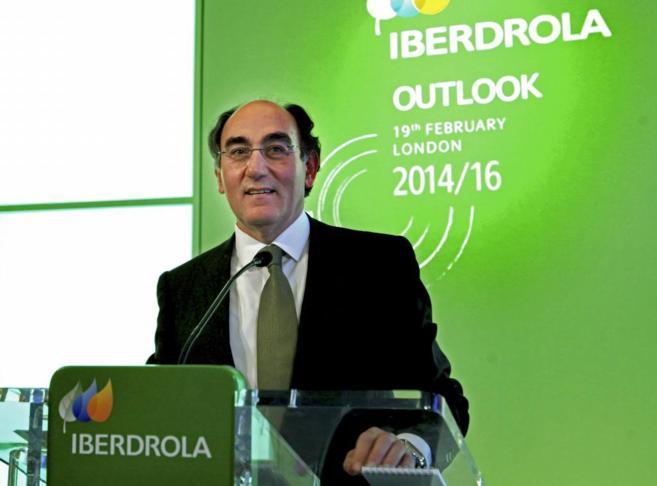 El presidente de Iberdrola, Ignacio Sánchez Galán, este miércoles...