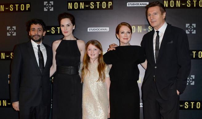 Collet-Serra con Michelle Dockery, Guest, Julianne Moore, Liam Neeson...