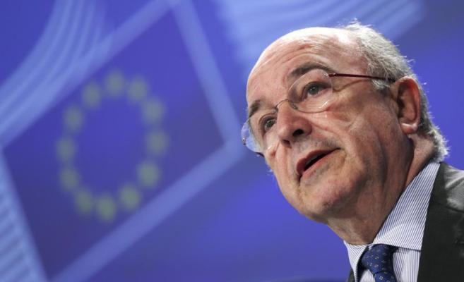 El vicepresidente de la Comisión Europea y responsable de la...