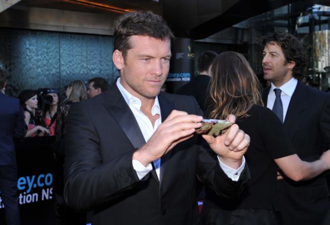 El actor, en una entrega de premios en Sydney.