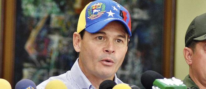 José Vielma Mora, gobernador del estado fronterizo de Táchira.