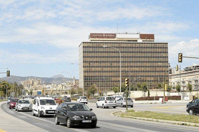 La torre acristalada donde antiguamente estaba ubicada la sede de la...