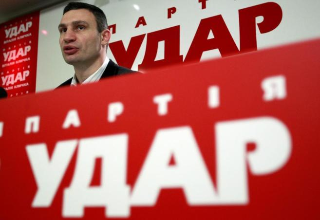 El líder opositor ucraniano Vitali Klitschko.