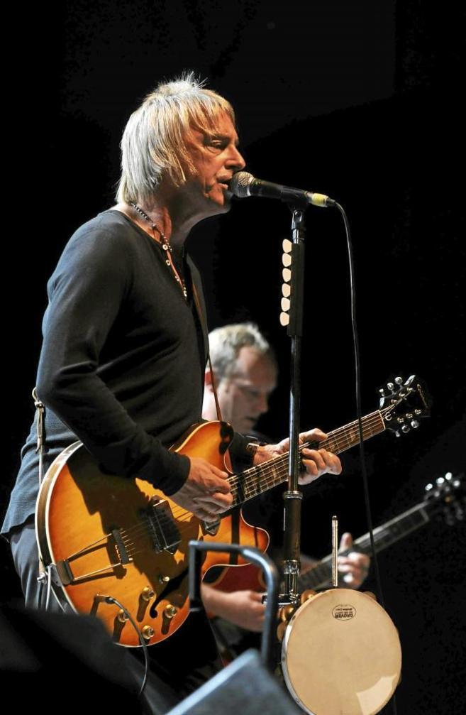 Paul Weller en concierto.