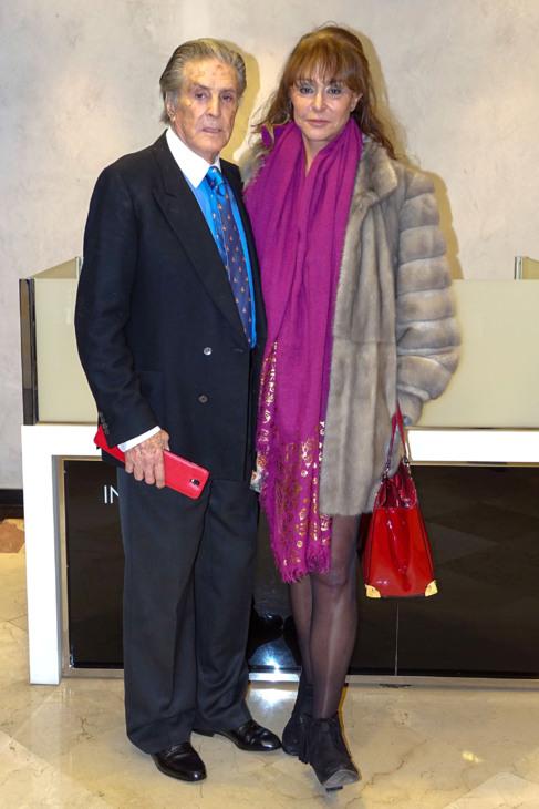 Jaime Ostos y Mari Ángeles Grajal, hace unos días en la...