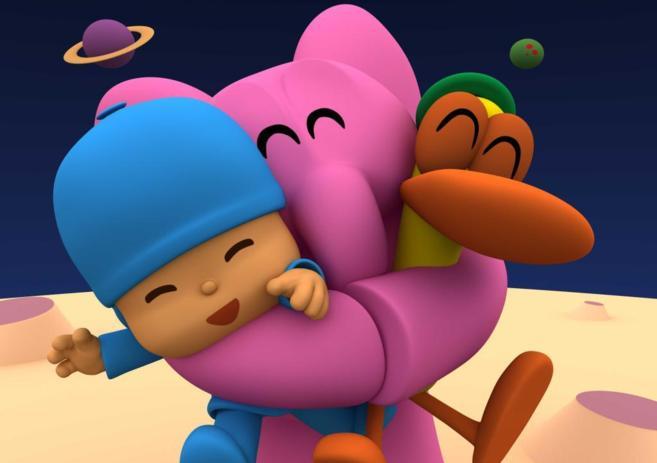Los personajes de la serie animada