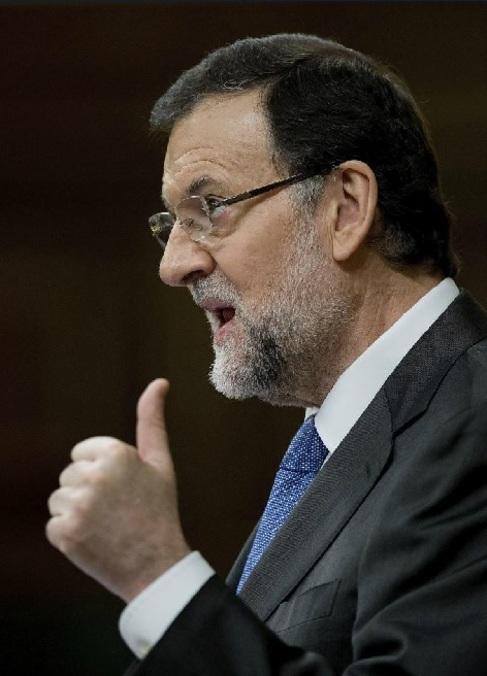 Mariano Rajoy en la segunda jornada del Debate de la Nación.