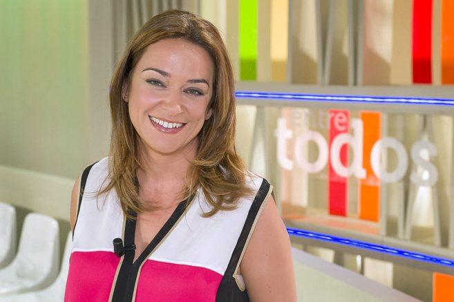 La presentadora de 'Tiene arreglo', Toñi Moreno, en el...