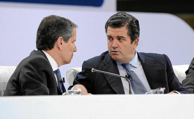El presidente de Endesa, Borja Prado, y su consejero delegado.
