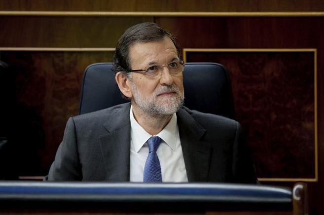 Mariano Rajoy durante la segunda jornada del Debate de Estado de la...