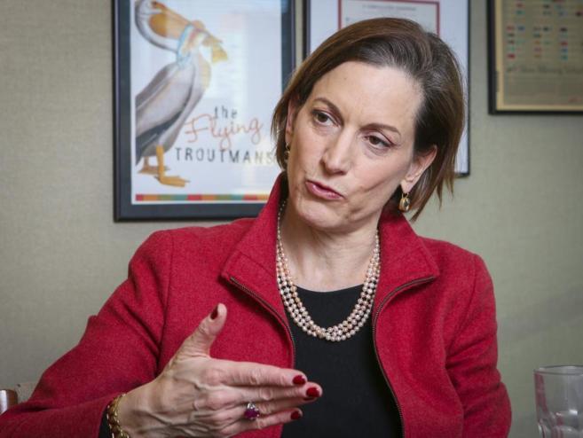 La escritora e historiadora Anne Applebaum.
