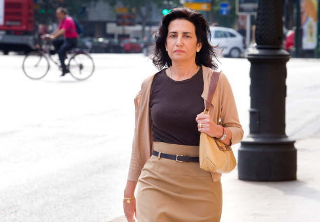La ex conseller Angélica Such, camino del TSJ para prestar...