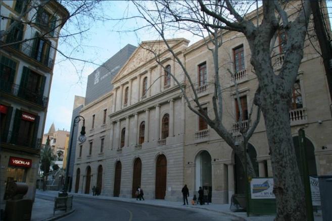 Fachada del Teatre Principal de Palma.