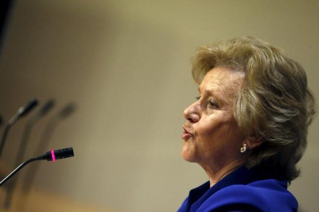 La defensora del Pueblo, Soledad Becerril.