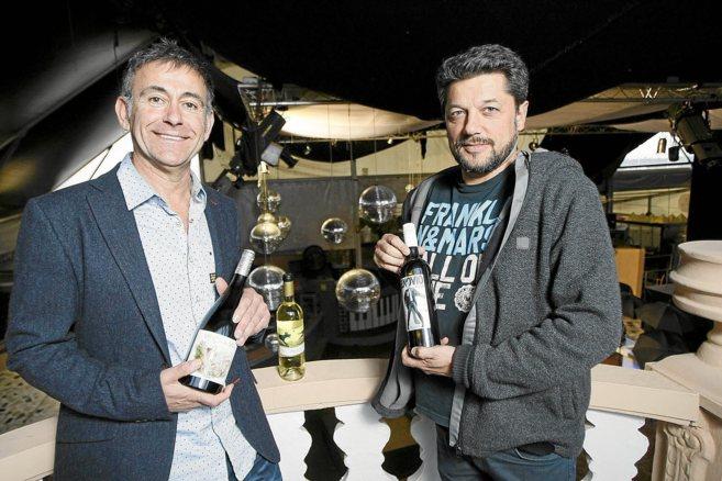 Eusebio Pérez-Pastor y José Ramón Navarrete en la discoteca Metro...