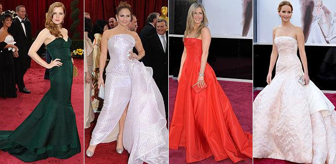 Amy Adams, Jennifer Lopez, Jennifer Aniston y Jennifer Lawrence, en...