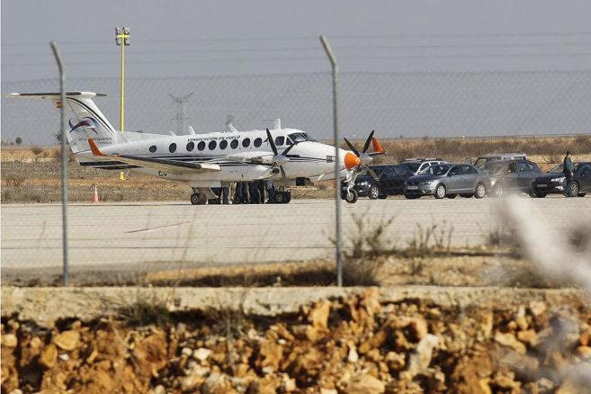 Hasta la fecha solo se realizó un vuelo de pruebas en el aeropuerto...