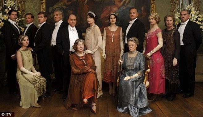 Downton Abbey\' arrasa con el final de su cuarta temporada ...