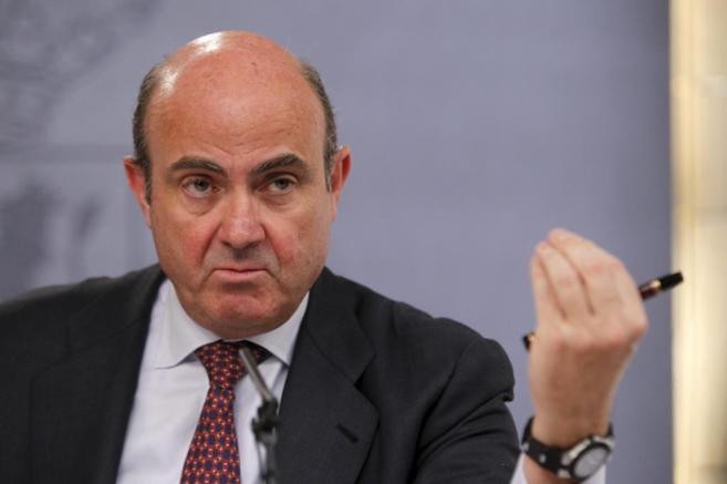 El m inistro de Economía, Luis de Guindos.
