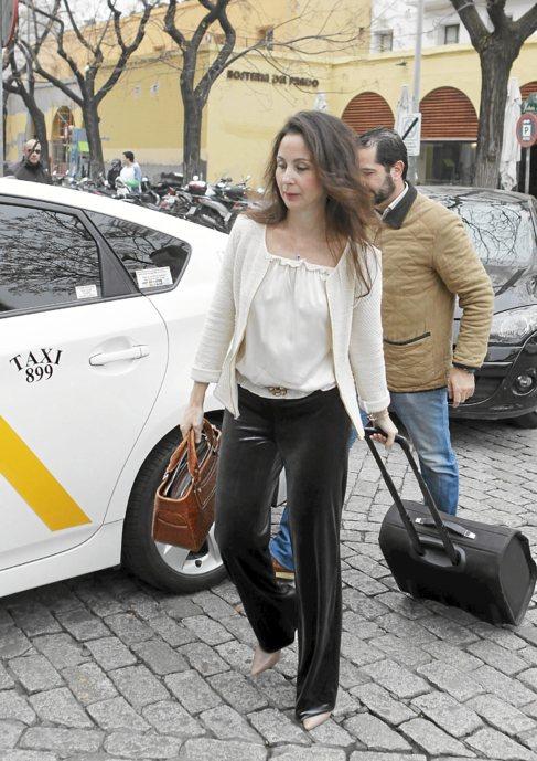 Mercedes Alaya llega al juzgado.