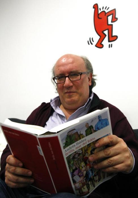 El escritor Andrés Ibáñez.