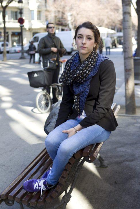 Clio, la joven que resultó lesionada y demandó a la empresa.