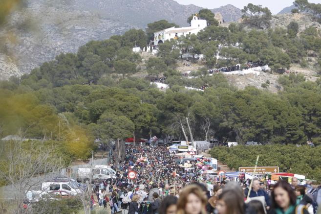 La Romeria es uno de los actos fundamentales de estas fiestas.