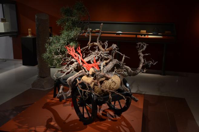 Una de las piezas de la muestra 'Japón, honor y tradición'