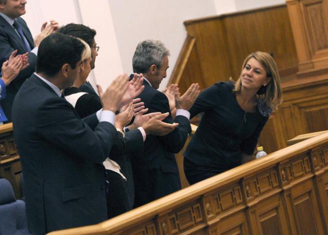 María Dolores de Cospedal, en el Debate sobre el estado de la Región...