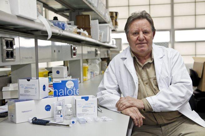 Jaime Gosalvez, catedrático de Genética de la Universidad Autónoma...