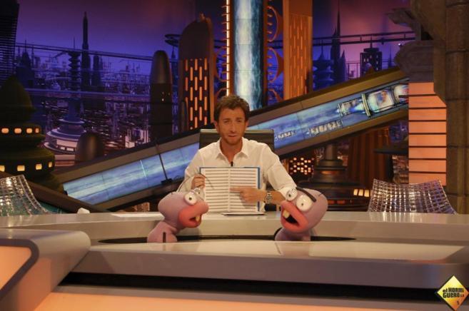 Pablo Motos, presentador de 'El hormiguero' con Trancas y...