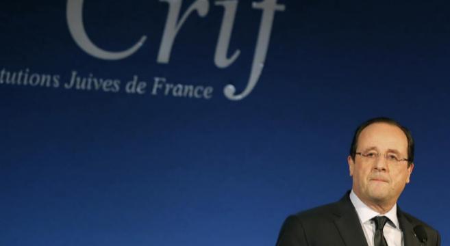 François Hollande, durante un acto este martes.