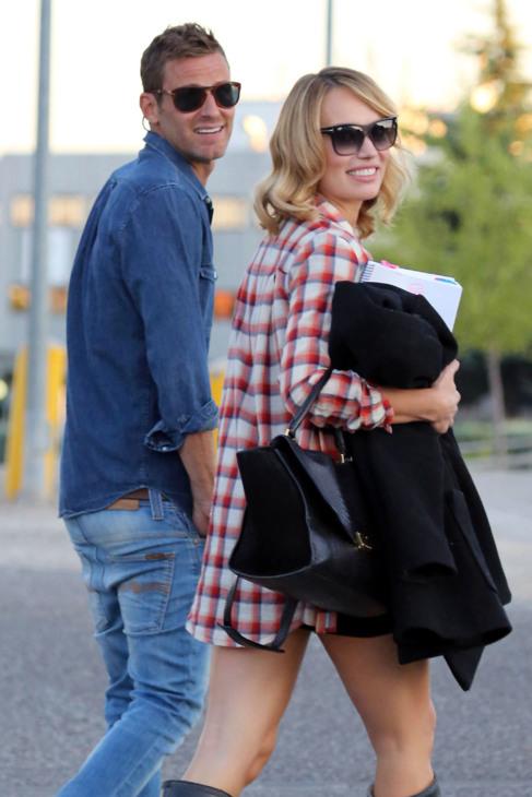 Carlos Seguí y Patricia Conde, paseando cuando todavía eran pareja