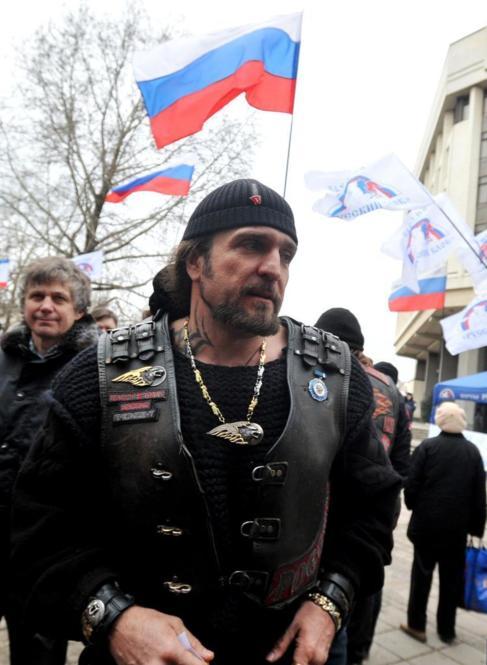 Alexander Zaldostanov, líder de la banda motera Los Lobos de la...