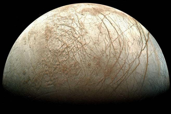 Europa, la luna de Júpiter, se considera 'potencialmente...