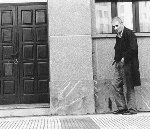 Leopoldo María Panero, en Mondragón, en 1994.