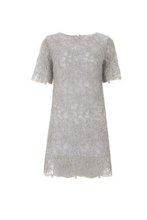 Como alargar un vestido corto de encaje