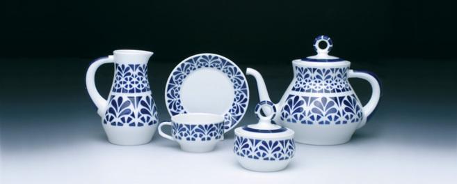 Piezas de cerámica de Sargadelos