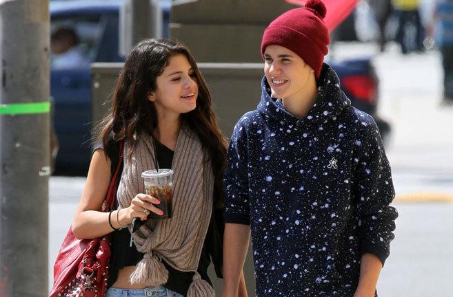 Selena Gómez y Justin Bieber, en 2012, cuando todavía eran pareja.