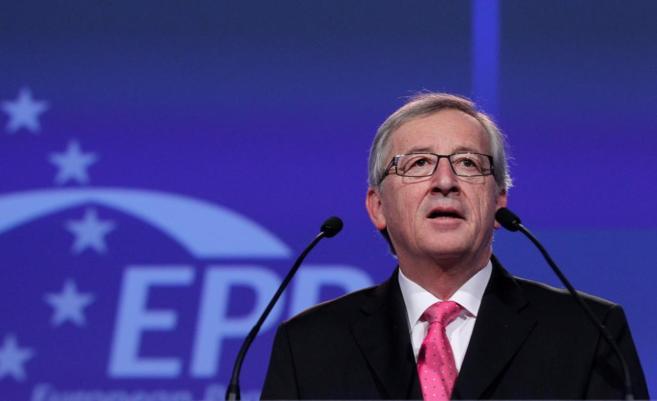 El ex primer ministro de Luxemburgo Jean-Claude Juncker, en Dublín.