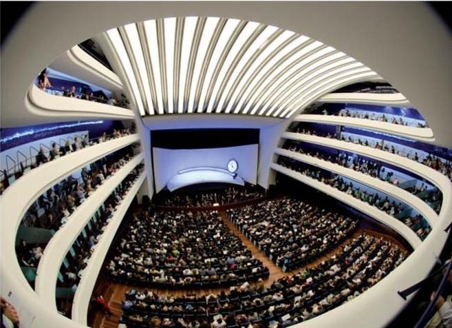 Vista del auditorio principal del Palau de Les Arts.