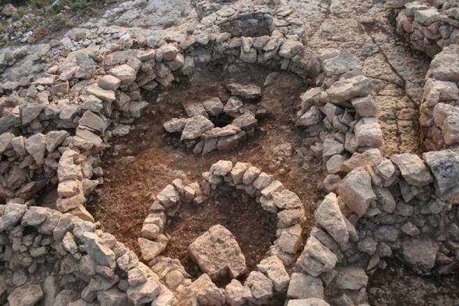 Uno de los hallazgos del servicio de arqueología.