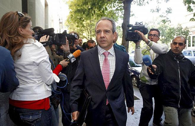 Arturo González Panero, tras declarar en el 'caso Gürtel'
