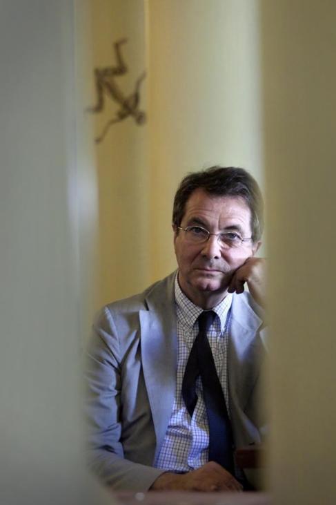 El fallecido director de orquesta, en el Círculo de Bellas Artes.