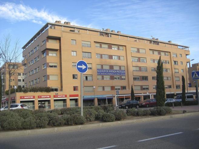 Bloque de pisos de protección en el nuevo PAU madrileño de...