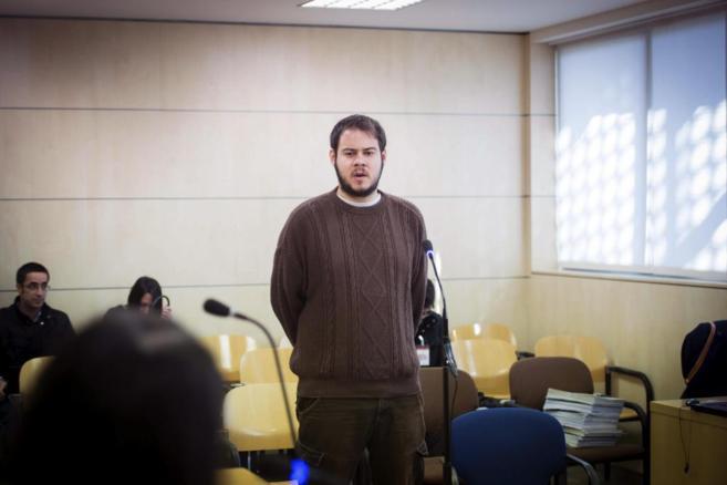 El rapero Pablo Rivadulla, conocido como 'Pablo Hasél', en la...