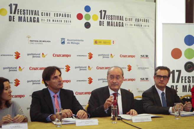 El alcalde de Málaga, Francisco de la Torre interviene en la...