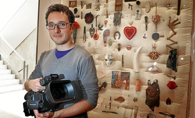 El autor del documental sobre el alzheimer, Alberto Nieto.