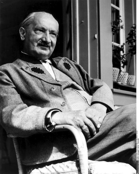 El filósofo Martin Heidegger.