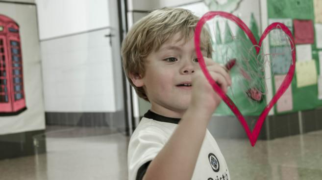 La educación emocional destaca dentro del proyecto educativo del...